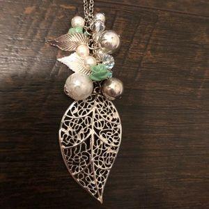Long Leaf Necklace
